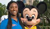 Ebony Johnson & Mickey