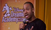 Celebrity Terrence Jenkins speaks at Disney Dreamers Academy empowerment session at Walt Disney World Resort