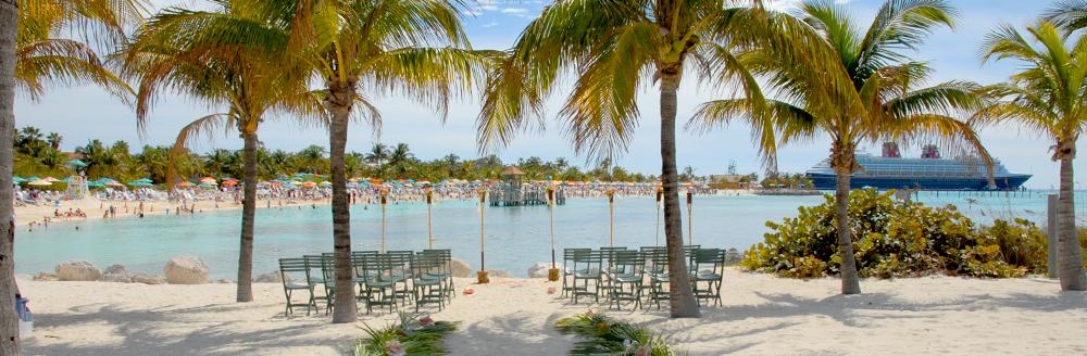 Castaway Cay Beach Disney Cruise Line Weddings Disney