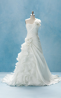 Disney wedding dresses 2012