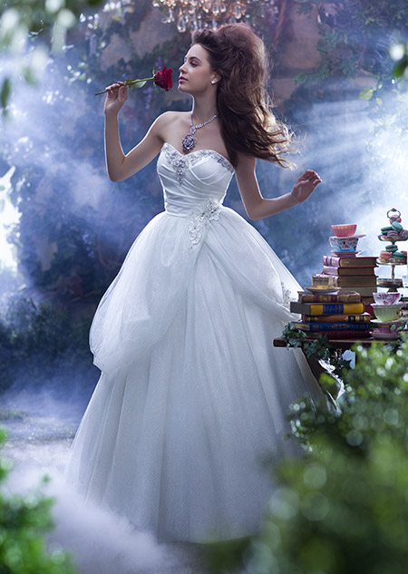 the belle wedding gown from the alfred angelo bridal collection