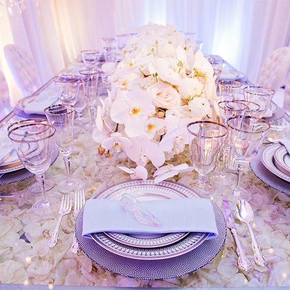 Decor: Disney Cinderella Inspired Wedding Reception