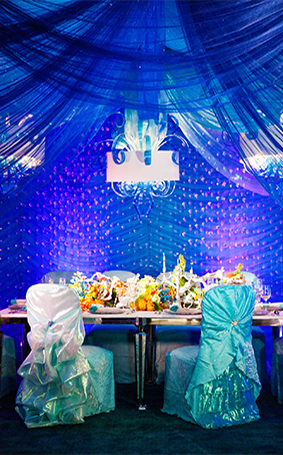 under the sea wedding decorations decor the sea inspired reception disney weddings 8158