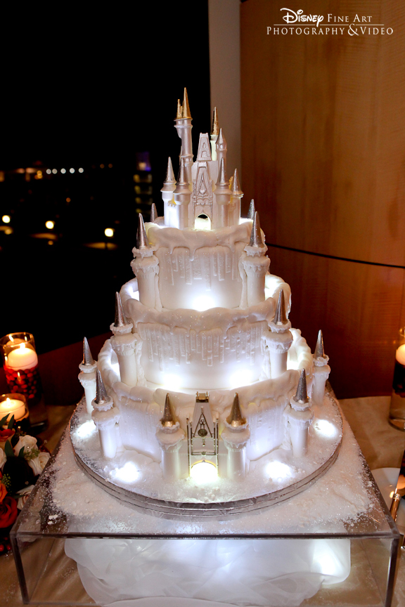 Wedding Cake Wednesday Holiday Ice Castle Disney Weddings