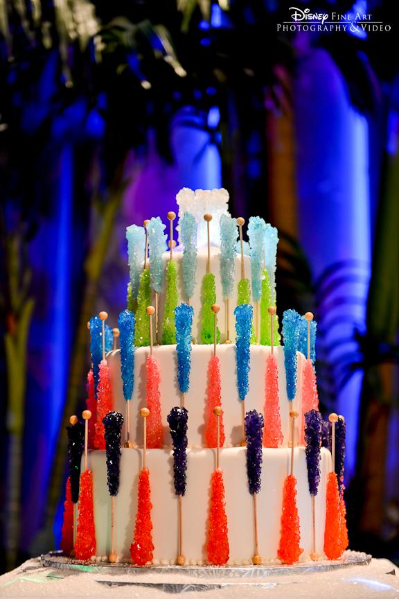 Wedding Cake Wednesday Rock Candy