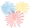 Theme Park Events - Fireworks Icon
