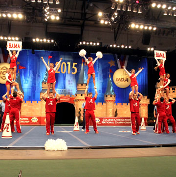 National College Cheerleading & Dance Championship (UDA/UCA)