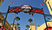 An entrance sign reads 'ESPN Wide World of Sports Complex'
