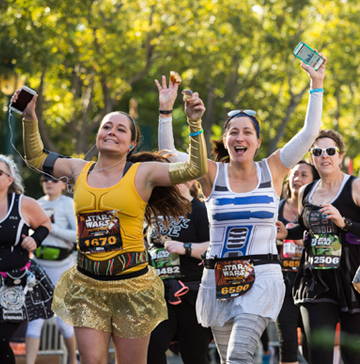 Star Wars - The Dark Side Half Marathon
