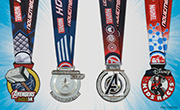 Mighty Medals Revealed for Avengers Super Heroes Half Marathon Weekend