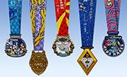 10th Anniversary Disneyland® Half Marathon Weekend Medals Revealed