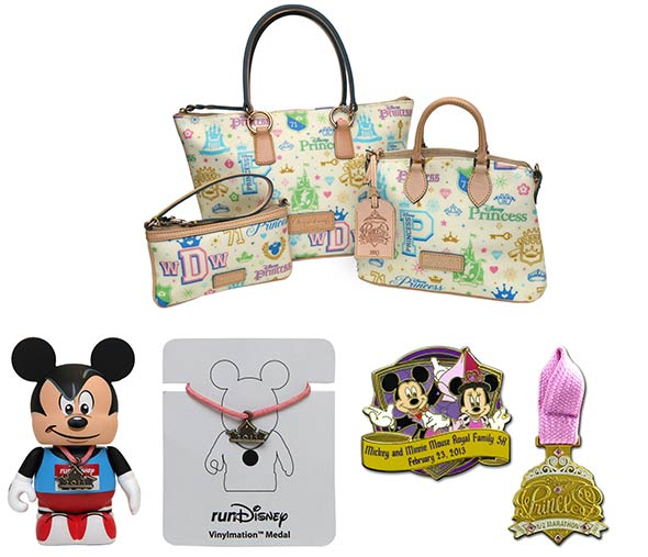 Disney's Fit for a Princess Expo Merchandise