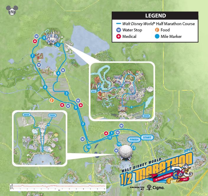 Runner Info Walt Disney World Marathon Weekend 2017