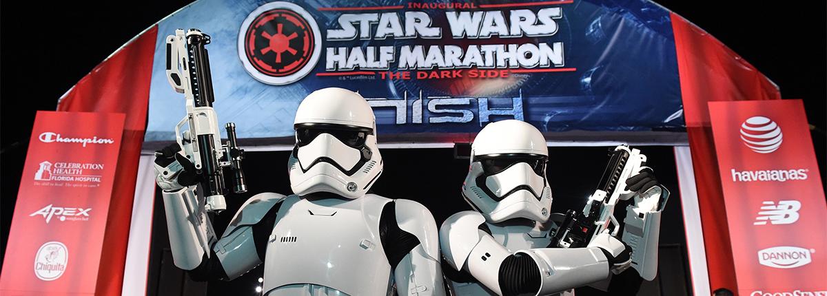 star wars half marathon   the dark side official site
