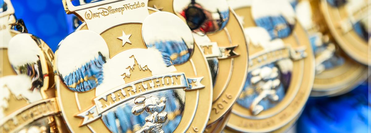 Marathon Medals - Copyright RunDisney