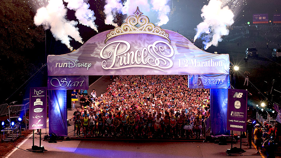 DISNEY'S PRINCESS HALF MARATHON WEEKEND 2014