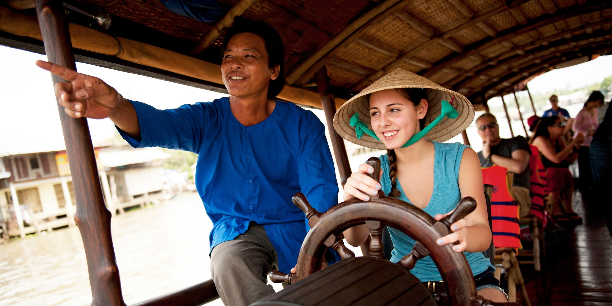 Cruise the Mekong River Delta on the Vietnam vacation