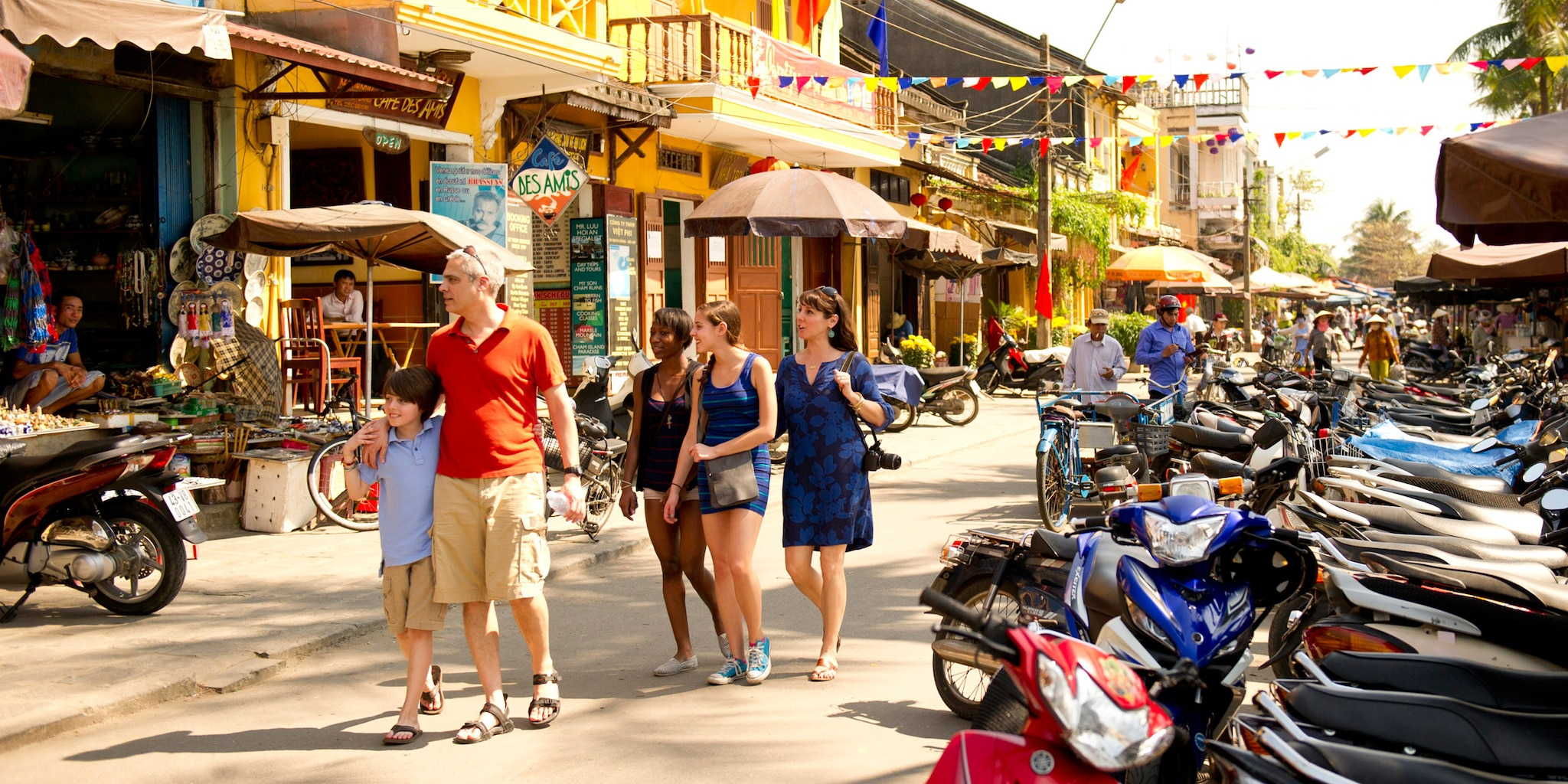 The village of Hoi An is one stop on the Vietnam vacation