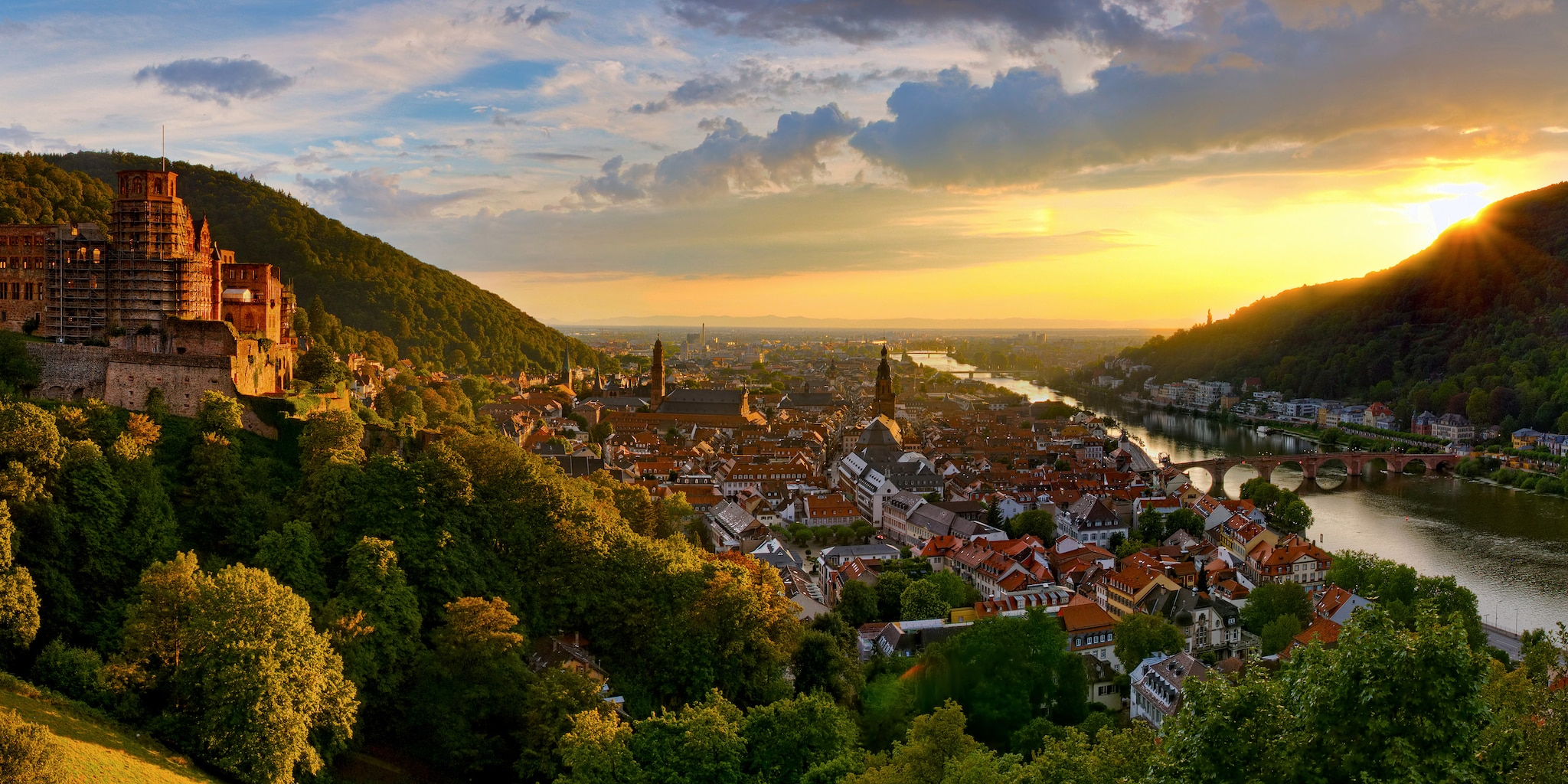 Heidelberg is one stop on the Germany tour