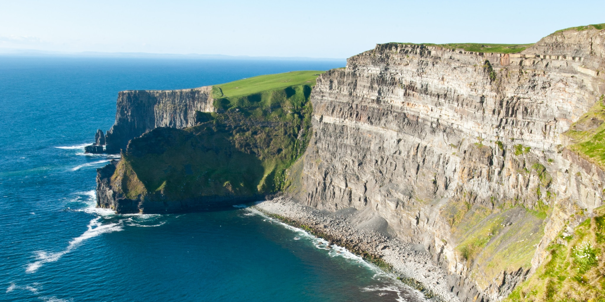 The Cliffs of Moher are one stop on the Ireland vacation