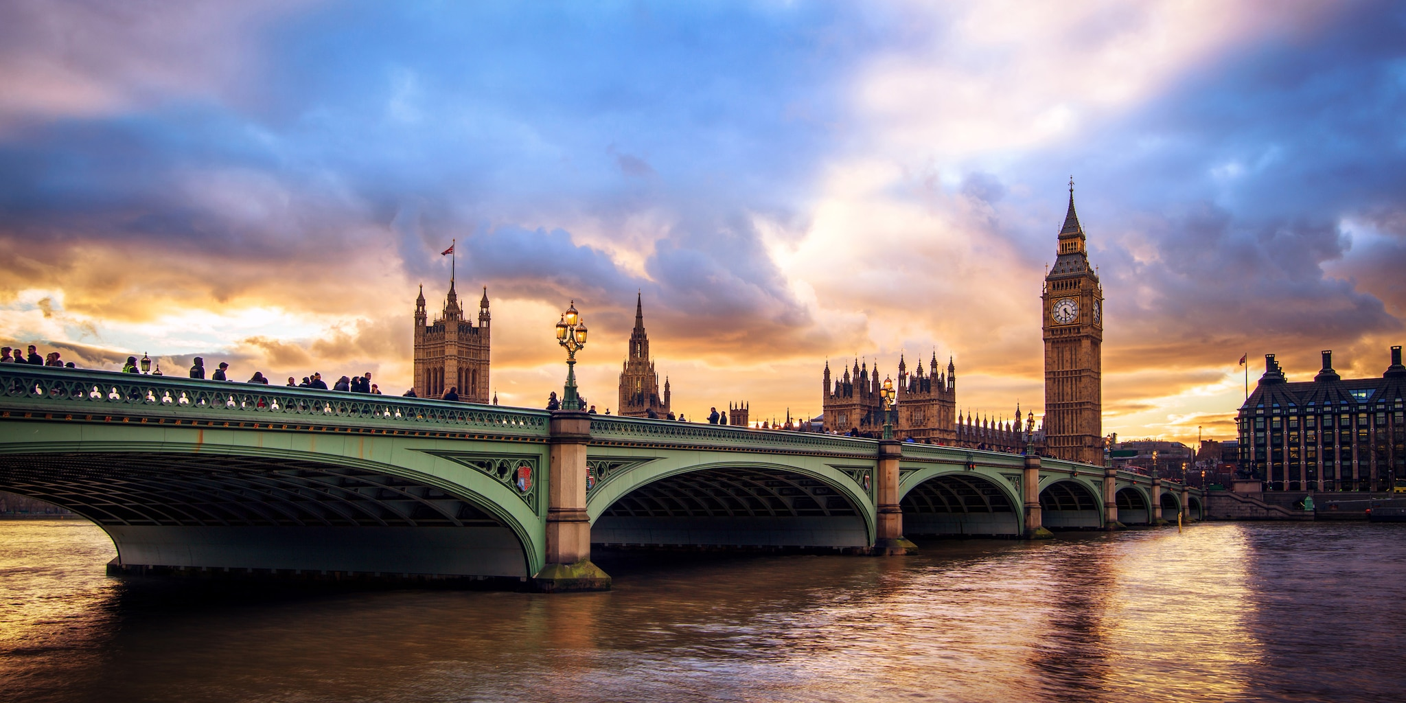 The River Thames with Big Ben in the background