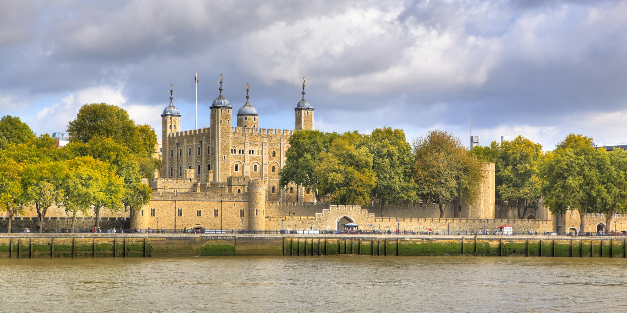 The Tower of London waterfront