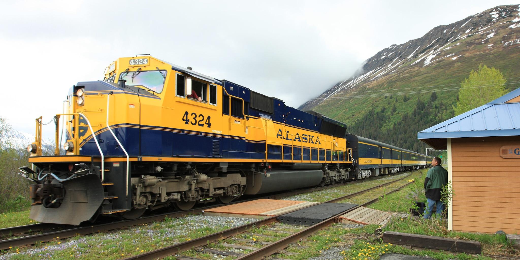 Scenic Alaska Railroad
