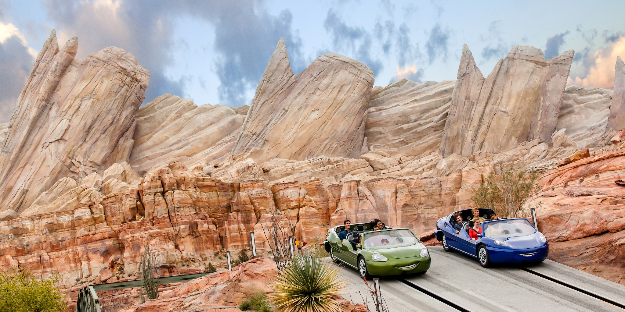 Visit Cars Land on the Los Angeles vacation