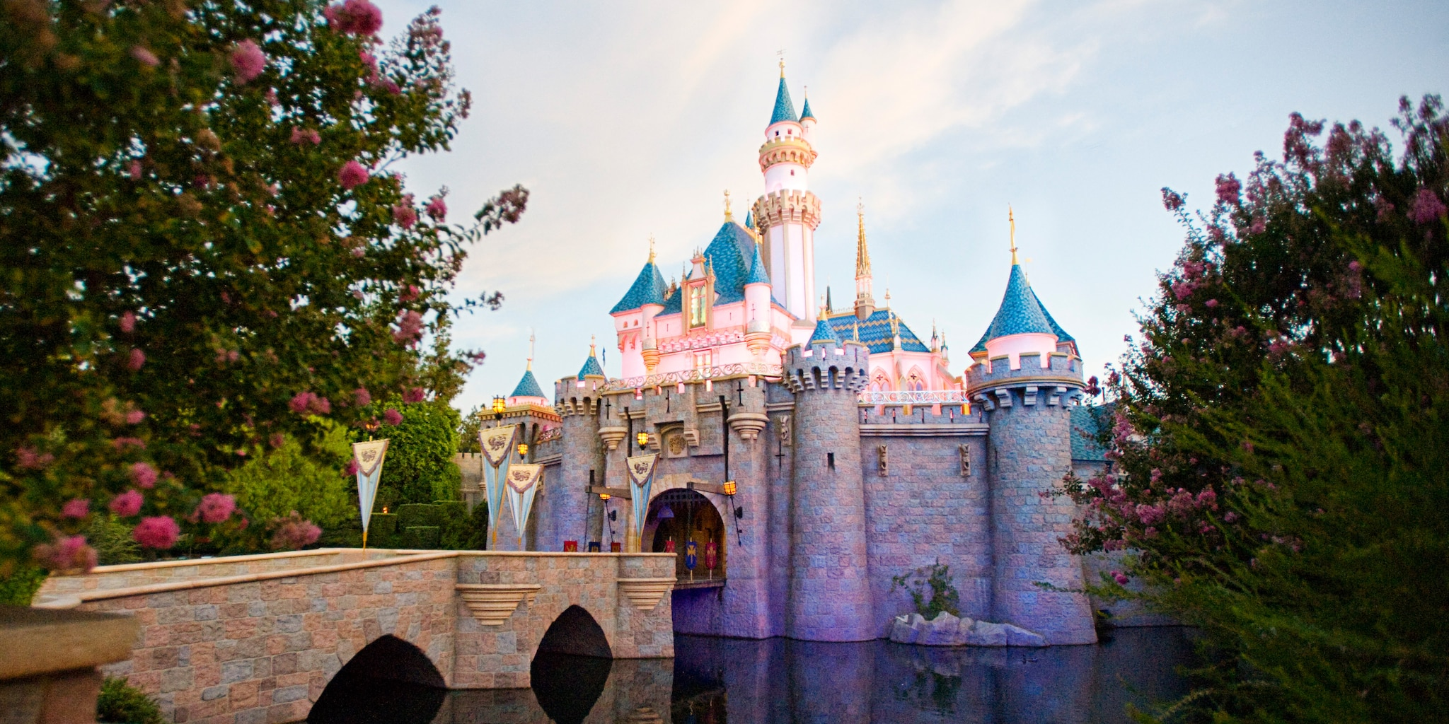 Sleeping Beauty Castle at Disneyland Park