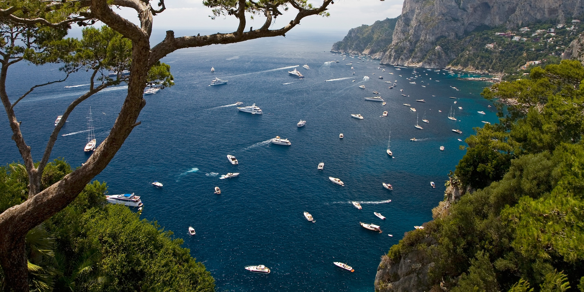 The Isle of Capri is one stop on the Mediterranean cruise