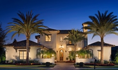 """Casa de Verano. Meaning """"House of Summer"""" in Spanish, this elegant estate home offers a sumptuous interpretation of the indoor-outdoor living experience so intrinsic to Golden Oak."""